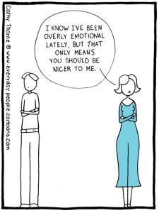 Understanding relationships through a new lens - overly emotional cartoon