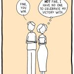 Loving For Keeps marriage cartoon – save my relationship and celebrate my victory