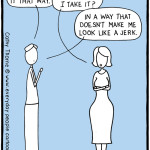 Loving For Keeps marriage cartoon – how to save a relationship: don't take it that way